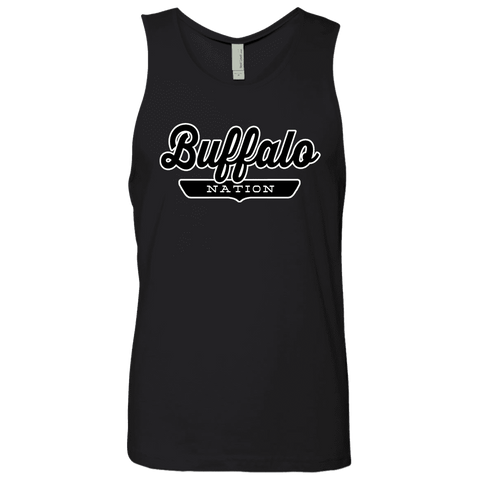 Black / S Buffalo Nation Tank Top - The Nation Clothing