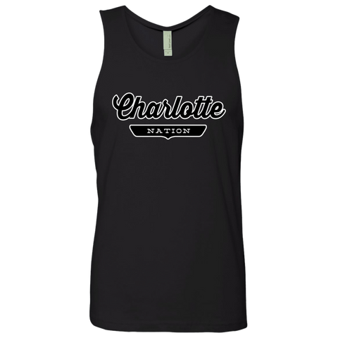 Black / S Charlotte Nation Tank Top - The Nation Clothing