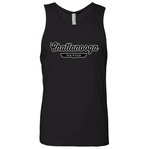 Black / S Chattanooga Nation Tank Top - The Nation Clothing
