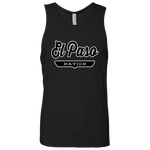 Black / S El Paso Nation Tank Top - The Nation Clothing