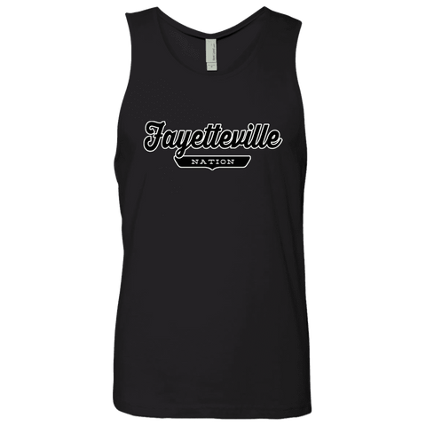 Black / S Fayetteville Nation Tank Top - The Nation Clothing