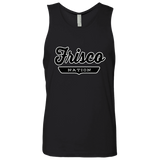Black / S Frisco Nation Tank Top - The Nation Clothing