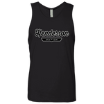 Black / S Henderson Nation Tank Top - The Nation Clothing