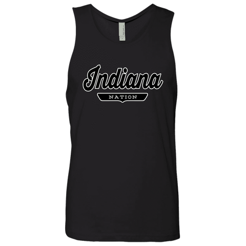 Black / S Indiana Nation Tank Top - The Nation Clothing
