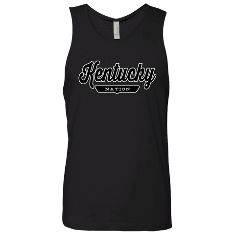 Black / S Kentucky Nation Tank Top - The Nation Clothing