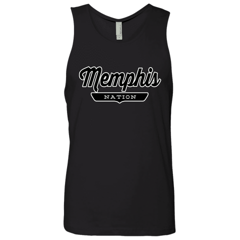 Black / S Memphis Nation Tank Top - The Nation Clothing