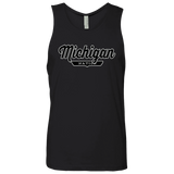 Black / S Michigan Nation Tank Top - The Nation Clothing