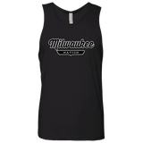 Black / S Milwaukee Nation Tank Top - The Nation Clothing
