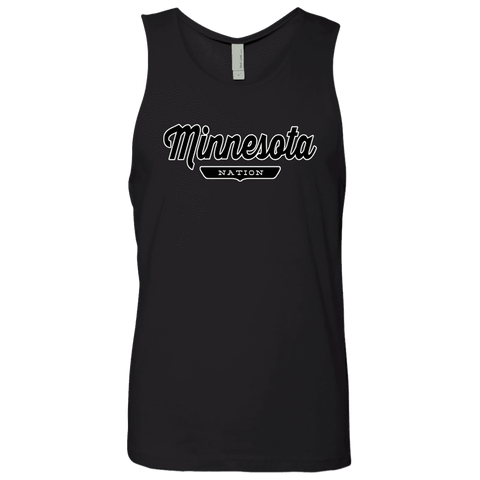 Black / S Minnesota Nation Tank Top - The Nation Clothing