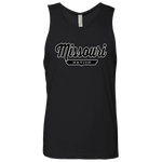 Black / S Missouri Nation Tank Top - The Nation Clothing