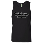 Black / S Motown Tank Top - The Nation Clothing