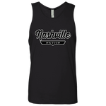 Black / S Nashville Nation Tank Top - The Nation Clothing
