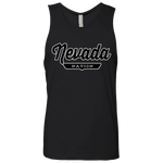 Black / S Nevada Nation Tank Top - The Nation Clothing