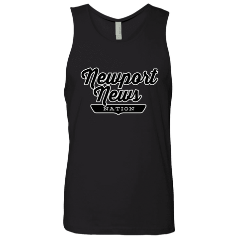 Black / S Newport News Nation Tank Top - The Nation Clothing