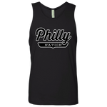Black / S Philly Tank Top - The Nation Clothing