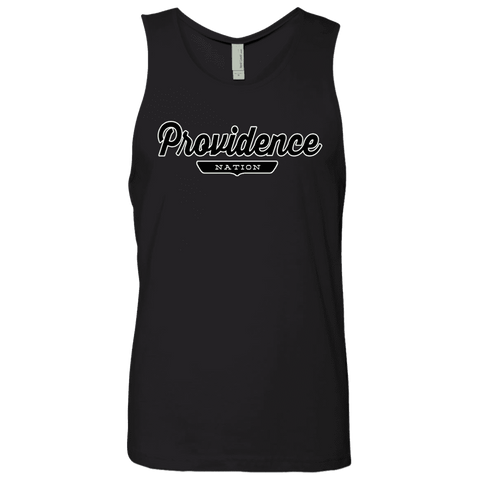 Black / S Providence Nation Tank Top - The Nation Clothing