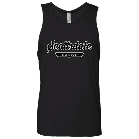 Black / S Scottsdale Nation Tank Top - The Nation Clothing