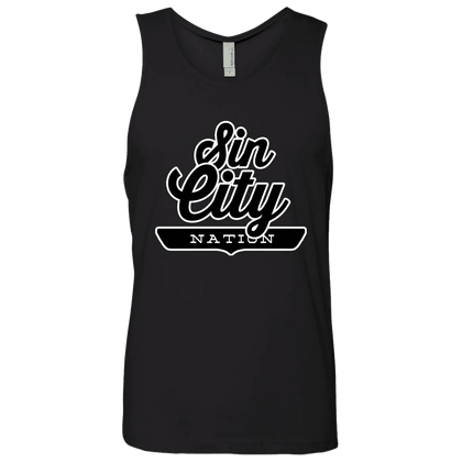Black / S Sin City Nation Tank Top - The Nation Clothing