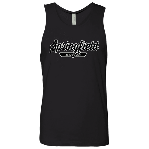 Black / S Springfield Nation Tank Top - The Nation Clothing