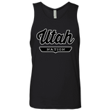 Black / S Utah Tank Top - The Nation Clothing