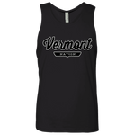 Black / S Vermont Nation Tank Top - The Nation Clothing