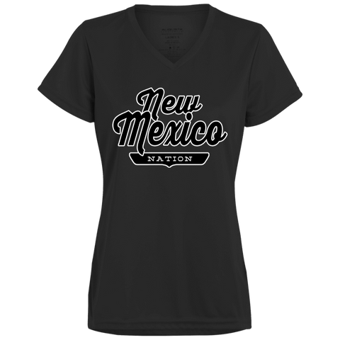 Black / X-Small New Mexico Nation Women's T-shirt - The Nation Clothing