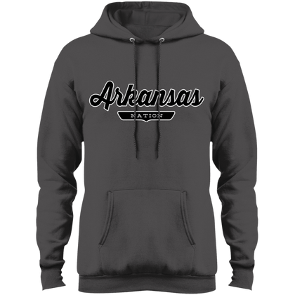 Charcoal / S Arkansas Hoodie - The Nation Clothing