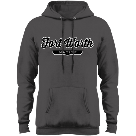 Charcoal / S Fort Worth Hoodie - The Nation Clothing