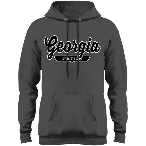 Charcoal / S Georgia Hoodie - The Nation Clothing