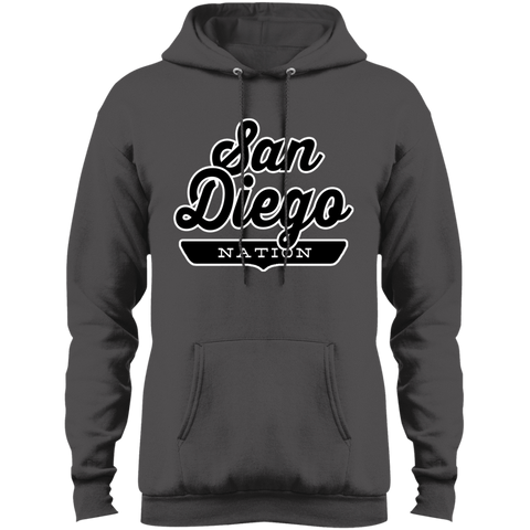 Charcoal / S San Diego Hoodie - The Nation Clothing
