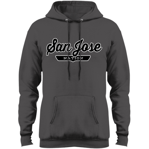 Charcoal / S San Jose Hoodie - The Nation Clothing
