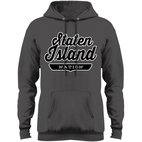 Charcoal / S Staten Island Nation Hoodie - The Nation Clothing