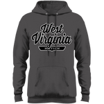 Charcoal / S West Virginia Nation Hoodie - The Nation Clothing