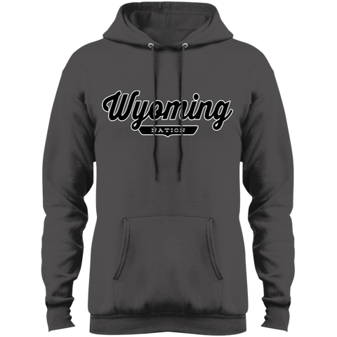 Charcoal / S Wyoming Hoodie - The Nation Clothing