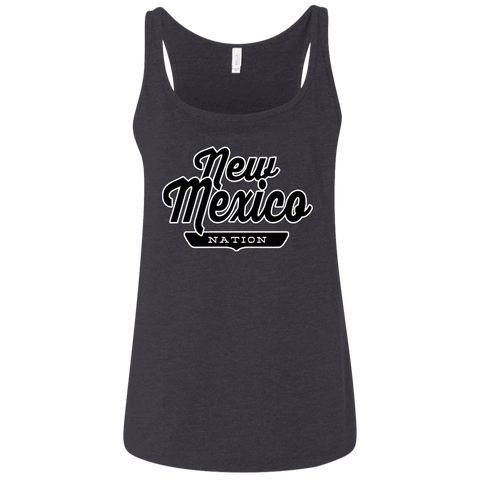 Dark Heather Grey / S New Mexico Nation Women's Tank Top - The Nation Clothing