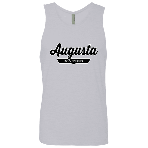 Heather Grey / S Augusta Nation Tank Top - The Nation Clothing