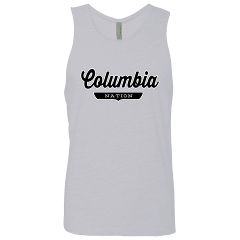 Heather Grey / S Columbia Nation Tank Top - The Nation Clothing