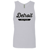 Heather Grey / S Detroit Nation Tank Top - The Nation Clothing