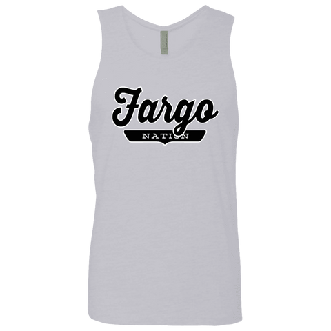 Heather Grey / S Fargo Nation Tank Top - The Nation Clothing