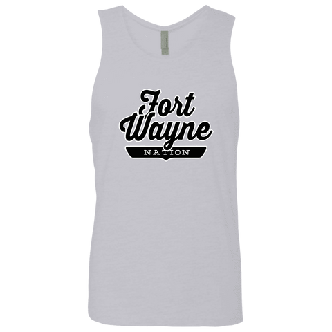 Heather Grey / S Fort Wayne Nation Tank Top - The Nation Clothing