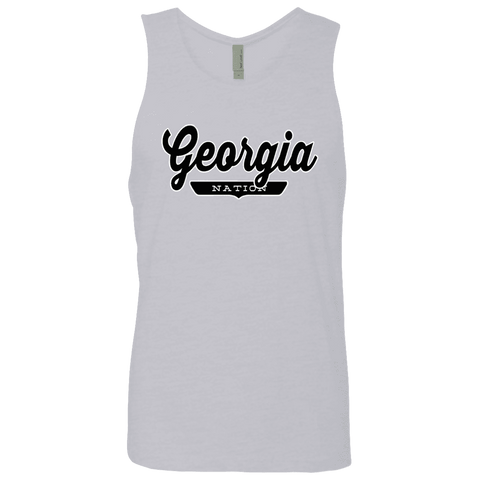 Heather Grey / S Georgia Nation Tank Top - The Nation Clothing