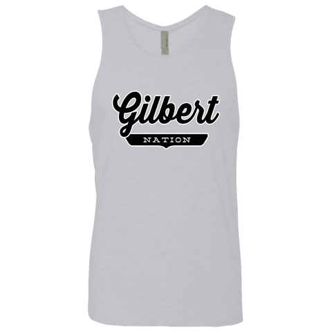 Heather Grey / S Gilbert Nation Tank Top - The Nation Clothing