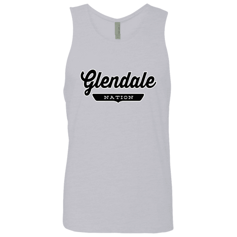 Heather Grey / S Glendale Nation Tank Top - The Nation Clothing