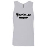 Heather Grey / S Henderson Nation Tank Top - The Nation Clothing