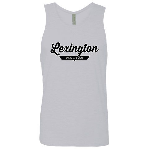 Heather Grey / S Lexington Nation Tank Top - The Nation Clothing