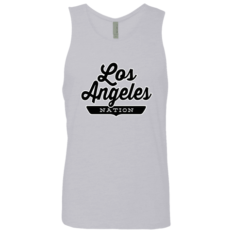 Heather Grey / S Los Angeles Nation Tank Top - The Nation Clothing