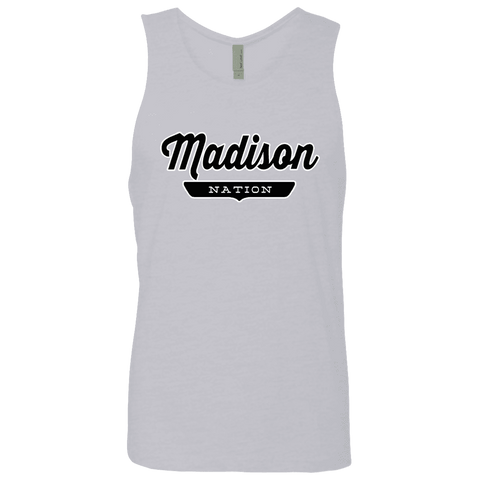 Heather Grey / S Madison Nation Tank Top - The Nation Clothing