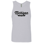 Heather Grey / S Michigan Nation Tank Top - The Nation Clothing