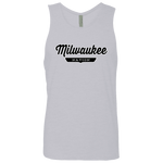 Heather Grey / S Milwaukee Nation Tank Top - The Nation Clothing