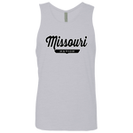 Heather Grey / S Missouri Nation Tank Top - The Nation Clothing